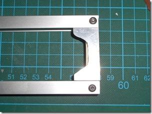 Rahmen mit Parallelblech hinten